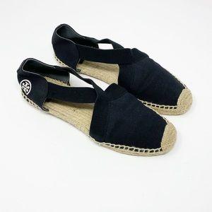 Tory Burch | Catalina Black Espadrille Sandals